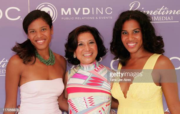Writer Christina Lewis, Empresario Loida Lewis and Empresario Lesie Lewis Sword attend Celebrating The Legacy Of Business Icon Reginald F. Lewis at...