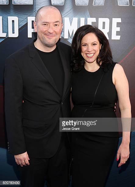 Writer Christopher Markus attends The World Premiere of Marvel's Captain America Civil War at Dolby Theatre on April 12 2016 in Los Angeles California