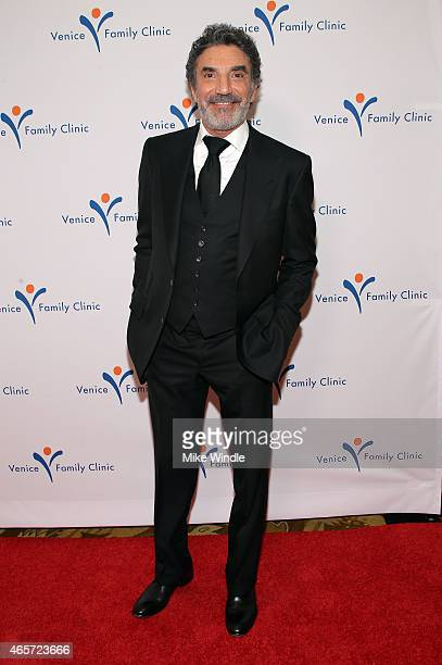 Writer Chuck Lorre attends Venice Family Clinic's Silver Circle Gala at Regent Beverly Wilshire Hotel on March 9 2015 in Beverly Hills California