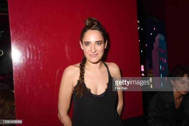 Writer Claire Berest attends the Reading Party as part of Prix Castel Du Roman De La Nuit 2020 Literary Awards on January 18 2020 in Paris France