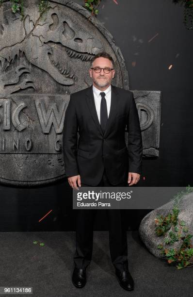 Writer Colin Trevorrow attends the 'Jurassic World Fallen Kingdom' premiere at Wizink Center on May 21 2018 in Madrid Spain
