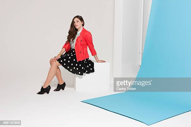 Writer Courtney Hoffman is photographed for Refinery29 on March 11 2013 in Los Angeles California PUBLISHED IMAGE