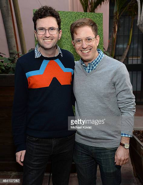 Writer Craig Johnson and Adam Roberts attend the AMC Networks and IFC Films Spirit Awards After Party on February 21 2015 in Santa Monica California