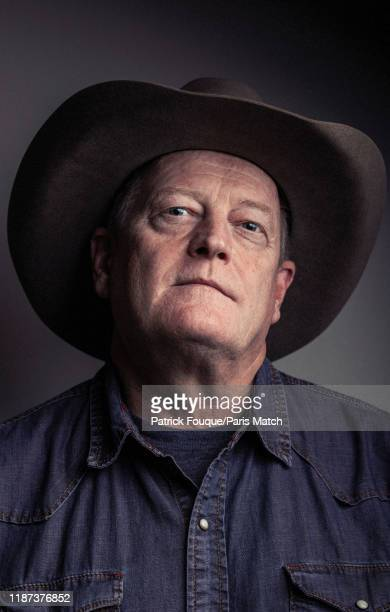 Writer Craig Johnson is photographed for Paris Match on November 18 2019 in Paris France
