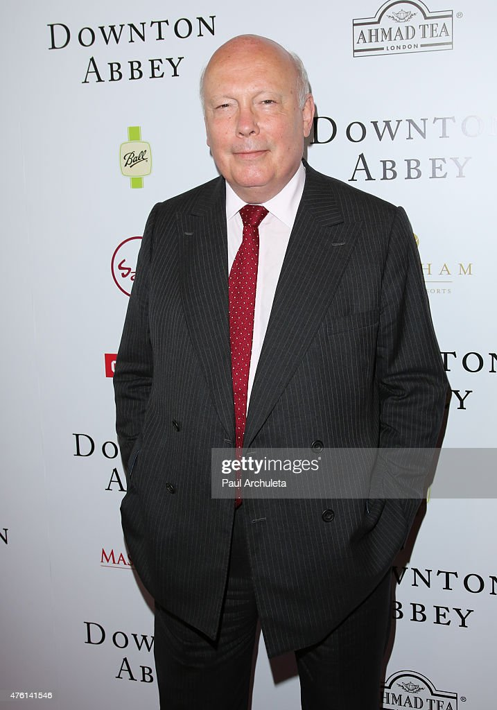 Writer / Creator Julian Fellowes attends the 'Downton Abbey' panel Q&A at The Writers Guild Theater on June 6, 2015 in Beverly Hills, California.