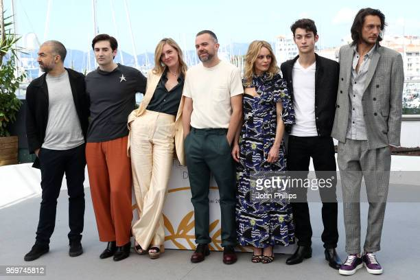 Writer Cristiano Mangione actor Nicolas Maury actress Kate Moran director Yann Gonzalez actress Vanessa Paradis Khaled Alouach and Jonathan Genet...