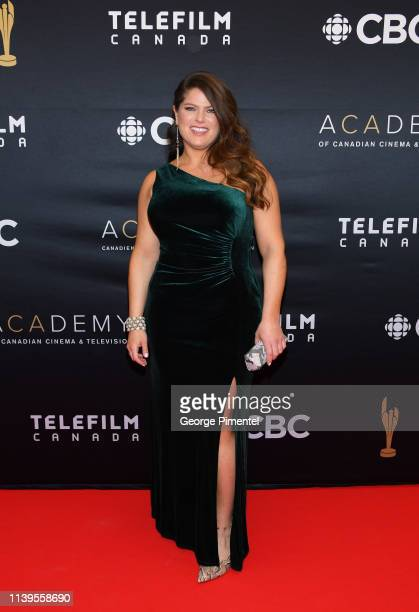 Writer Cynthia Knight attends the 2019 Canadian Screen Awards Broadcast Gala at Sony Centre for the Performing Arts on March 31 2019 in Toronto Canada