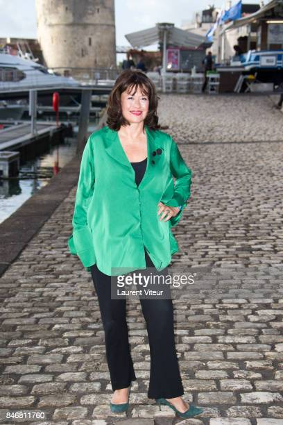 Writer Daisy Goodwin attends 'Victoria' Photocall during 19th Festival Of TV Fiction on September 14 2017 in La Rochelle France