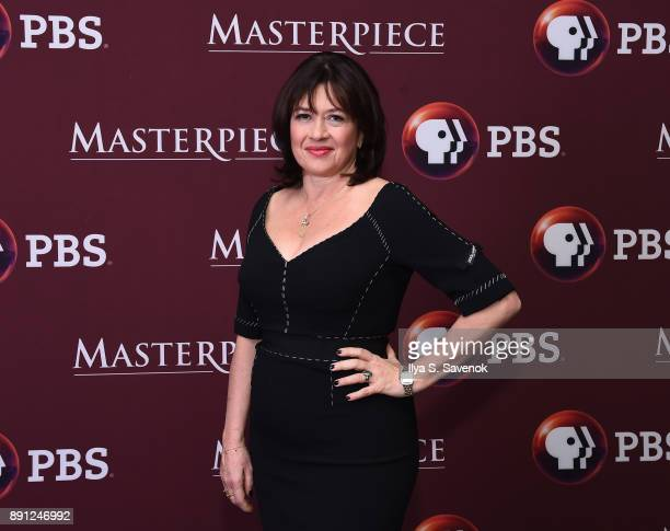 Writer Daisy Goodwin attends 'Victoria' Season 2 Premiere on Masterpiece on PBS on December 12 2017 in New York City
