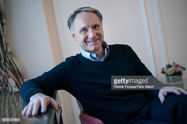 Writer Dan Brown is photographed for Paris Match on October 11 2016 in London England