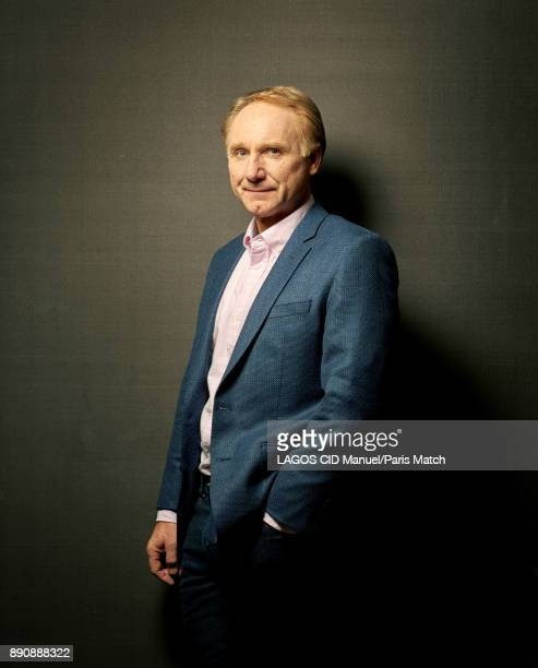 Writer Dan Brown is photographed for Paris Match on October 30 2017 in Paris France