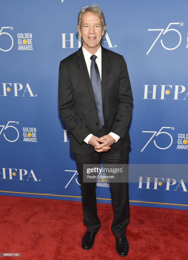 TV writer David E. Kelley attends the Hollywood Foreign Press Association Hosts Television Game Changers Panel Discussion at The Paley Center for Media on October 26, 2017 in Beverly Hills, California.