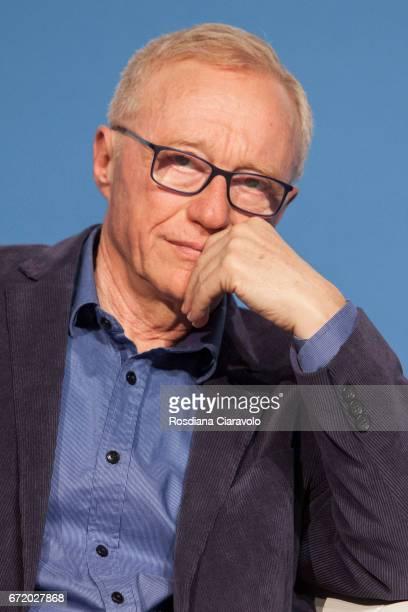 Writer David Grossman attends Tempo Di Libri Book Show on April 23, 2017 in Milan, Italy.