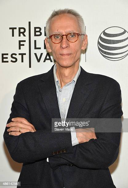 Writer David Ives attends the 'Venus in Fur' Premiere during the 2014 Tribeca Film Festival at BMCC Tribeca PAC on April 22 2014 in New York City