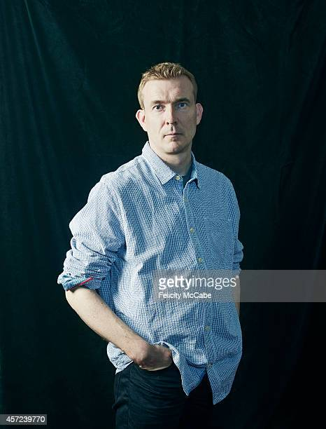 Writer David Mitchell is photographed on September 9, 2014 in London, England.