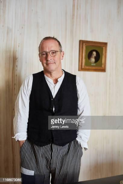 Writer David Sedaris is photographed for Vi Läser magazine on February 7 2019 in Rackham England