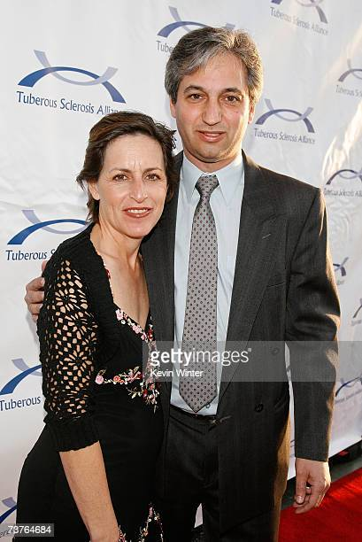 Writer David Shore and Judy Shore arrive at the 6th Annual Comedy For A Cure hosted by the Tuberous Sclerosis Alliance held at The Music Box Theatre...