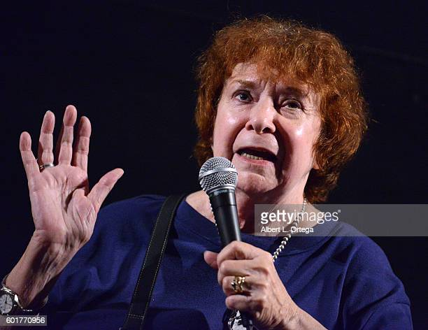 Writer DC Fontana at the Star Trek 50th Anniversary Celebration Star Trek The Motion Picture held at the Egyptian Theatre on September 9 2016 in...