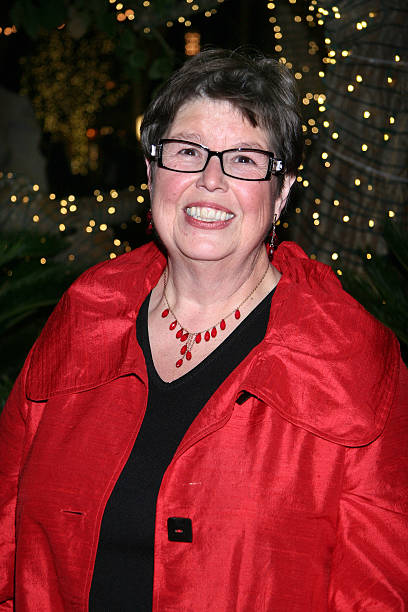 writer debbie macomber attends the screening for hallmark channels debbie macombers trading christmas at - Debbie Macomber Trading Christmas