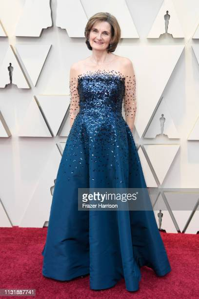 Writer Deborah Davis attends the 91st Annual Academy Awards at Hollywood and Highland on February 24 2019 in Hollywood California