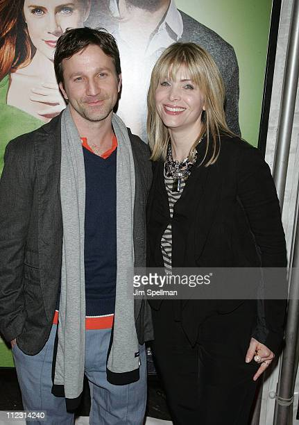 Writer Deborah Kaplan and actor Breckin Meyer attend the premiere of 'Leap Year' at the Directors Guild Theatre on January 6 2010 in New York City