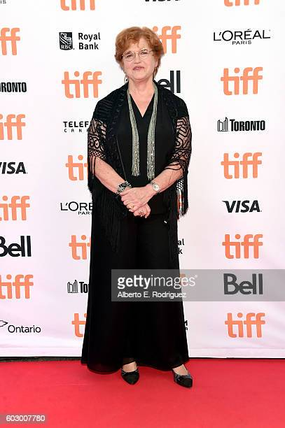 Writer Deborah Lipstadt attends the Denial premiere during the 2016 Toronto International Film Festival at Princess of Wales Theatre on September 11...