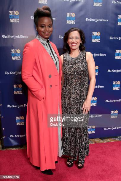 Writer Dee Rees and Executive director of IFP Joana Vincente attends IFP's 27th Annual Gotham Independent Film Awards on November 27 2017 in New York...