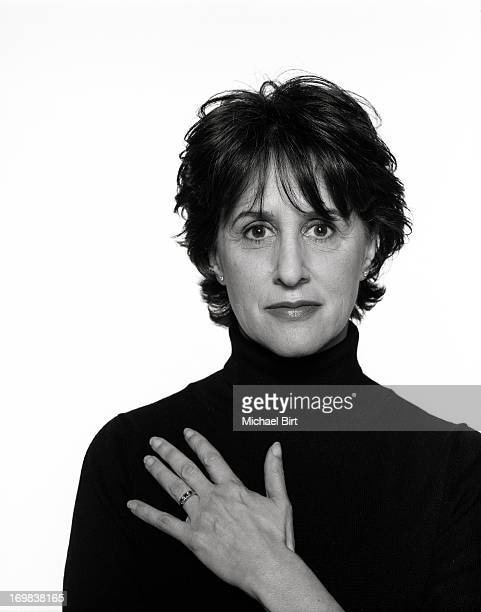 Writer Delia Ephron is photographed for Talk magazine on September 2 2000 in New York City