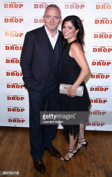 Writer Dennis Lehane and Angela Bernardo attend 'The Drop' after party during the 2014 Toronto International Film Festival at CIBO on September 5...