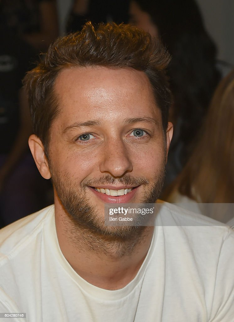Writer Derek Blasberg attends the Rodarte fashion show during New York Fashion Week September 2016 at Center 548 on September 13, 2016 in New York City.