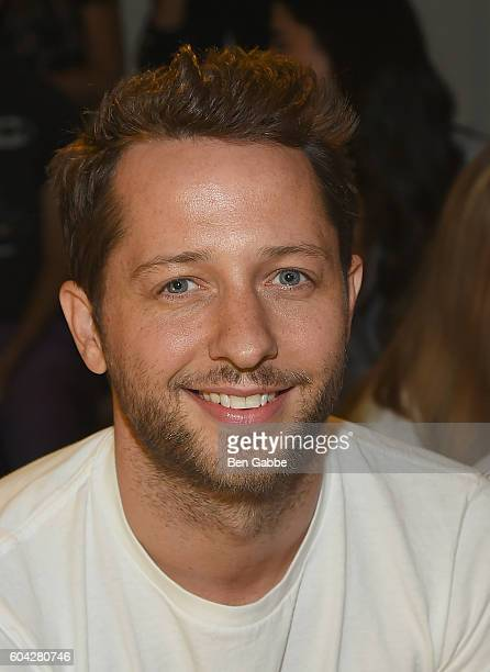 Writer Derek Blasberg attends the Rodarte fashion show during New York Fashion Week September 2016 at Center 548 on September 13 2016 in New York City