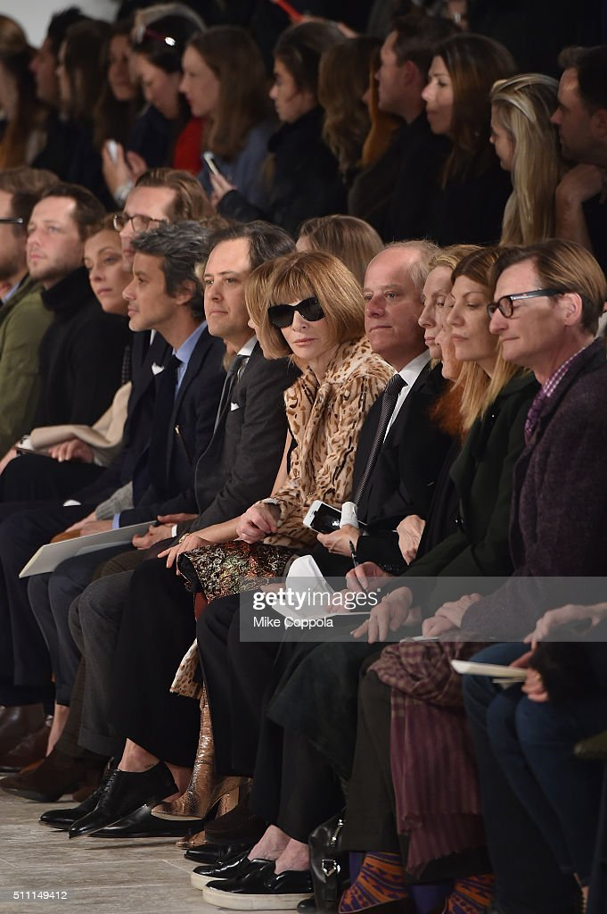 Ralph Lauren - Front Row - Fall 2016 New York Fashion Week: The Shows