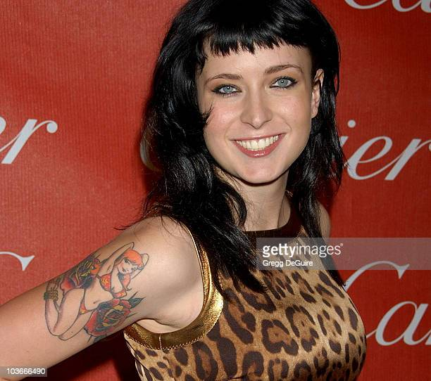 Writer Diablo Cody arrives at the 2008 Palm Springs International Film Festival Awards Gala at the Palm Springs Convention Center on January 5 2008...