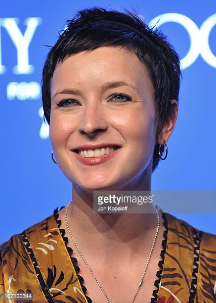 Writer Diablo Cody arrives at the Jimmy Choo for HM Collection private event in support of the Motion Picture Television Fund on November 2 2009 in...