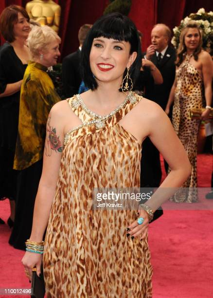 Writer Diablo Cody attend the 80th Annual Academy Awards at the Kodak Theatre on February 24 2008 in Los Angeles California