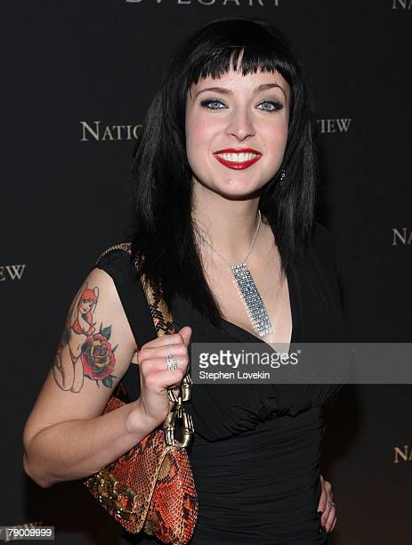 Writer Diablo Cody attends The 2007 National Board of Review Awards Gala at Cipriani 42nd street January 15 2008