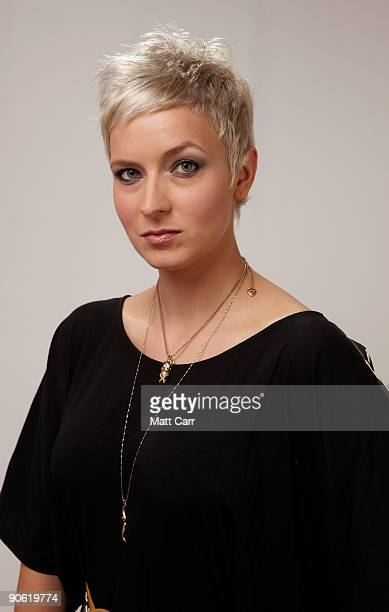 "Writer Diablo Cody from the film ""Jennifer's Body"" poses for a portrait during the 2009 Toronto International Film Festival at The Sutton Place Hotel..."