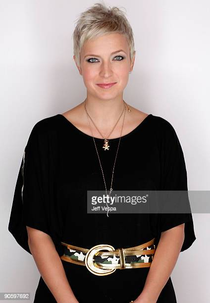 Writer Diablo Cody poses for a portrait during the 2009 Toronto International Film Festival held at the Sutton Place Hotel on September 11 2009 in...