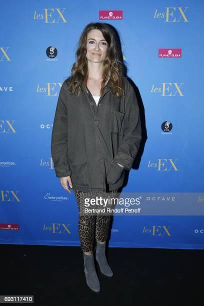 Writer Diane Ducret attends les Ex Paris Premiere at Cinema Gaumont Capucine on June 6 2017 in Paris France