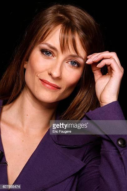 Writer Diane Ducret Photographed in PARIS