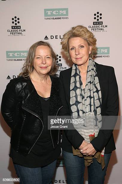 Writer Diane Mapes and journalist Mary Mapes attend 'A Face in The Crowd' screening during day 3 of the TCM Classic Film Festival 2016 on April 30...