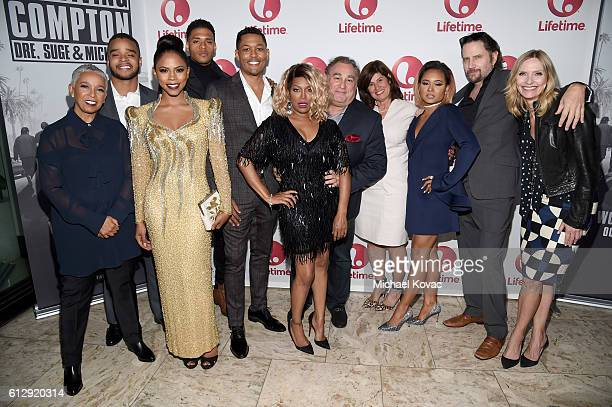 Writer Dianne Houston actors Vonii Bristow Shanica Knowles Deric Augustine Curtis Hamilton singer Michel'le executive producer Leslie Greif Lifetime...