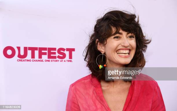 Writer director and actress Hannah Pearl Utt arrives at the 2019 Outfest Los Angeles LGBTQ Film Festival Closing Night Gala Premiere of Before You...