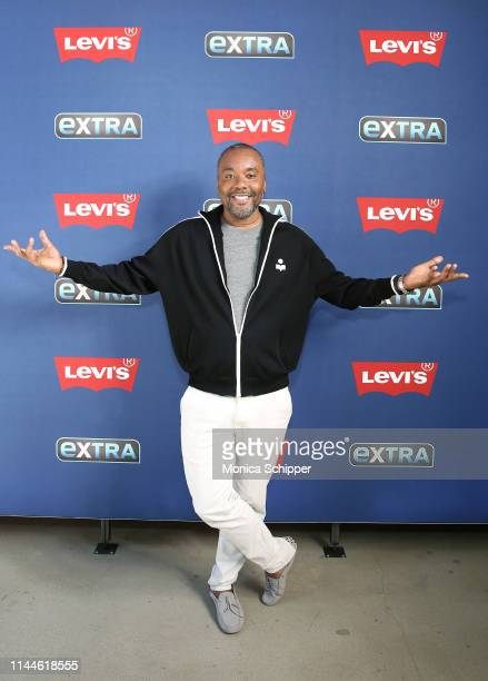Writer, director and producer Lee Daniels visits 'Extra' at The Levi's Store Times Square on April 23, 2019 in New York City.