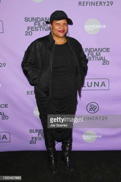 Writer, Director and Star of 'The 40 Year Old Version' Radha Blank attends the 2020 Women at Sundance Celebration hosted by Sundance Institute and...