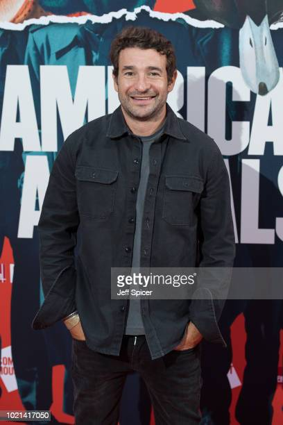 Writer director Bart Layton attends the UK premiere of American Animals at The Curzon Mayfair on August 22 2018 in London England