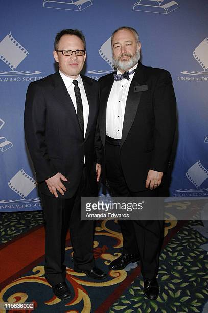 Writer / director Bill Condon and CAS President Edward L Moskowitz attend the 44th Annual Cinema Audio Society Awards at the Millenium Biltmore Hotel...