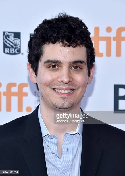 Writer/ Director Damien Chazelle attends the Whiplash premiere during the 2014 Toronto International Film Festival at Ryerson Theatre on September 8...