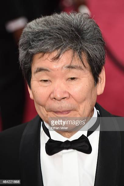 Writer Director Isao Takahata attends the 87th Annual Academy Awards at Hollywood & Highland Center on February 22, 2015 in Hollywood, California.