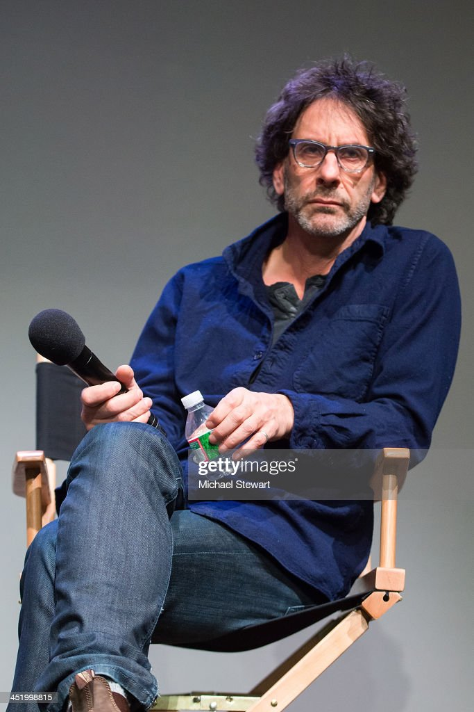 Writer / Director Joel Coen attends Meet the Filmmakers at the Apple Store Soho on November 25, 2013 in New York City.